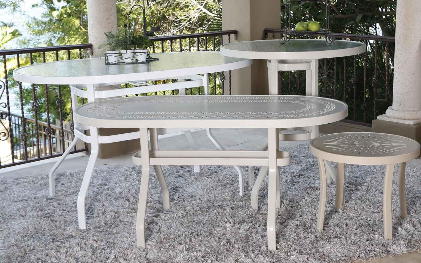 Aluminum Tables Antonelli S Furniture Melbourne Fl